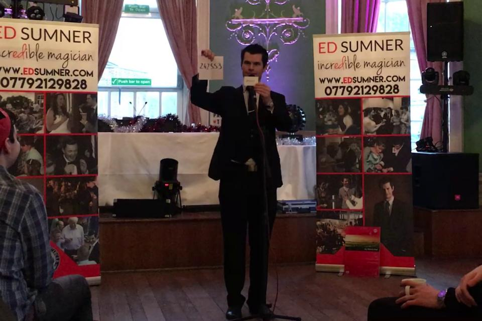 cabaret magician corporate events