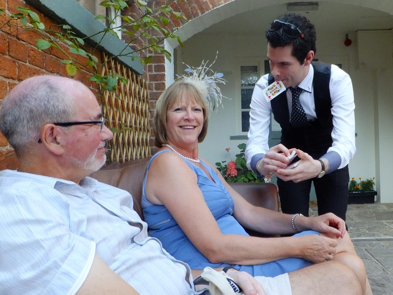 SHREWSBURY WEDDING MAGICIAN