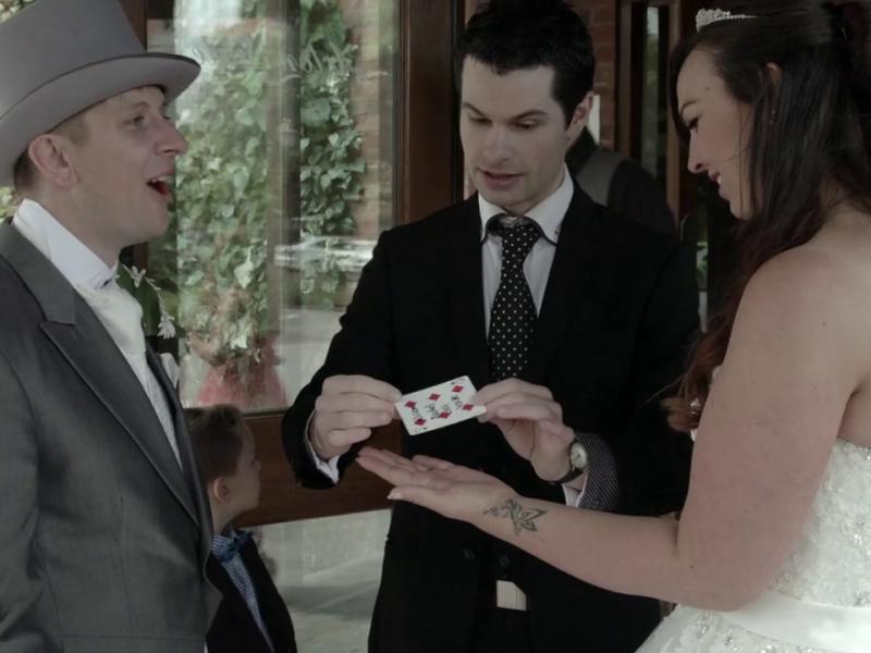 Derby Wedding Magician