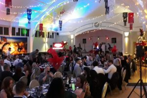 botanical gardens birmingham christmas party