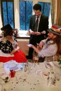 close up magician party shrewsbury