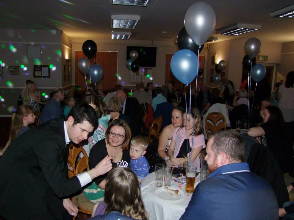 Staffordshire magician for hire