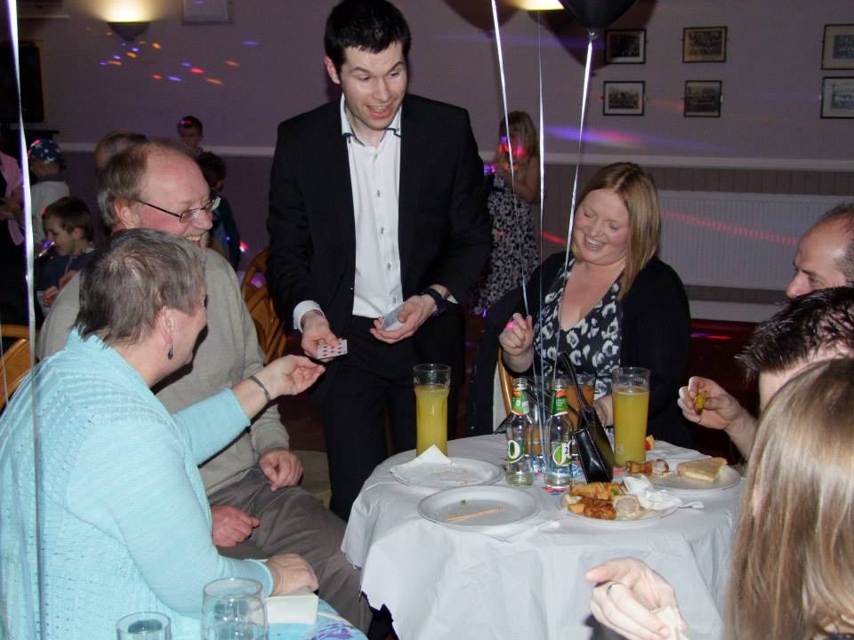 party magician staffordshire