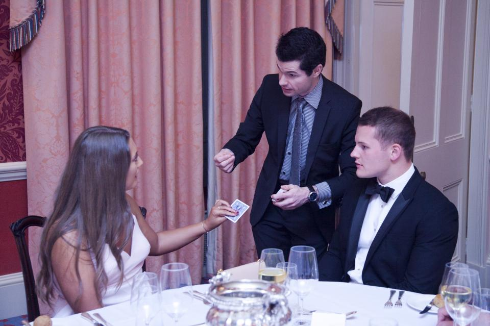 private dining entertainment london