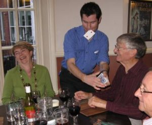 stafford restaurant magician