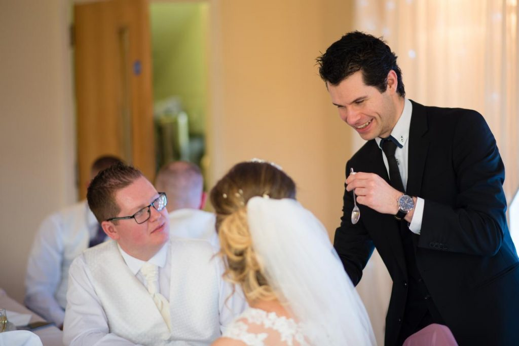 wedding-close up magician manchester